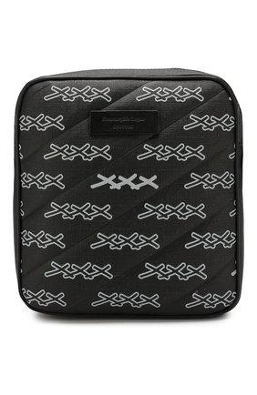 Мужская сумка ZEGNA COUTURE темно-серого цвета, арт. C1515X-LHREG | Фото 1