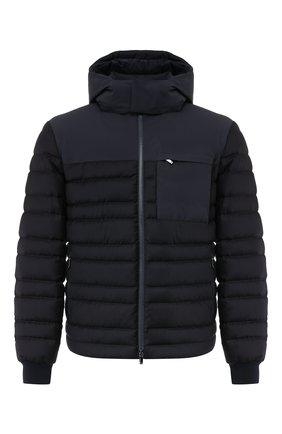 Мужская пуховая куртка Z ZEGNA черного цвета, арт. VT051/ZZT017 | Фото 1