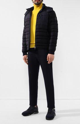 Мужская пуховая куртка Z ZEGNA черного цвета, арт. VT051/ZZT017 | Фото 2