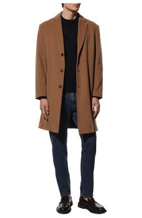 Мужской кашемировый свитер BRIONI темно-синего цвета, арт. UMQ90L/08K37 | Фото 2