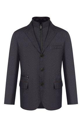 Мужская куртка CORNELIANI темно-синего цвета, арт. 846S41-9813035/00 | Фото 1