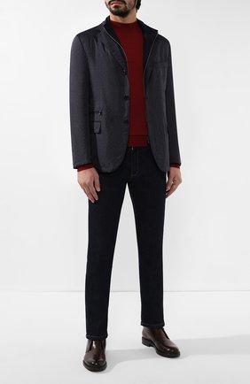 Мужская куртка CORNELIANI темно-синего цвета, арт. 846S41-9813035/00 | Фото 2