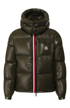 Мужская пуховая куртка montbeliard MONCLER хаки цвета, арт. E2-091-41803-05-68950 | Фото 1