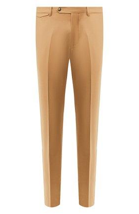 Мужской шерстяные брюки BERWICH бежевого цвета, арт. VULCAN0/VB8996 | Фото 1