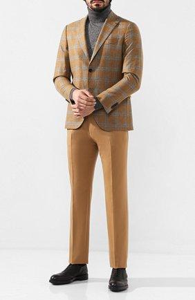 Мужской шерстяные брюки BERWICH бежевого цвета, арт. VULCAN0/VB8996 | Фото 2