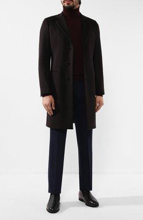 Мужские кожаные лоферы CANALI черного цвета, арт. 253210/RF00323 | Фото 2