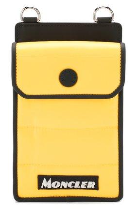 Мужского чехол для iphone MONCLER желтого цвета, арт. E2-09A-00808-00-68950 | Фото 1