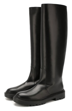 Женские кожаные сапоги CASADEI черного цвета, арт. 1S017N0211L0VEC9000 | Фото 1