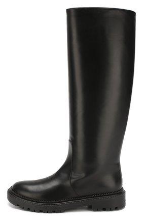Женские кожаные сапоги CASADEI черного цвета, арт. 1S017N0211L0VEC9000 | Фото 3
