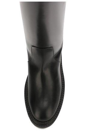Женские кожаные сапоги CASADEI черного цвета, арт. 1S017N0211L0VEC9000 | Фото 5