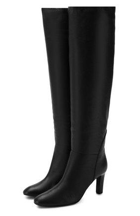 Женские кожаные сапоги GIUSEPPE ZANOTTI DESIGN черного цвета, арт. I980008/005 | Фото 1