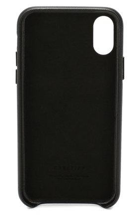 Мужской чехол для iphone x/xs VETEMENTS черного цвета, арт. UAH20AC901/W/IPH0NE XS | Фото 2