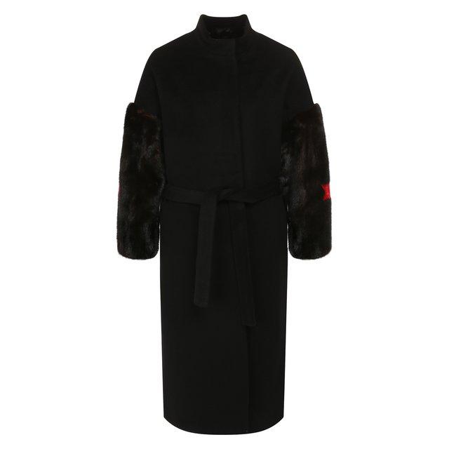 Пальто из смеси шерсти и кашемира Ava Adore