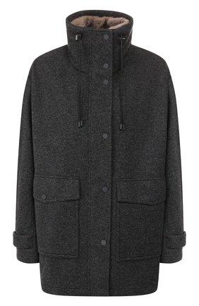 Куртка с меховым жилетом | Фото №1
