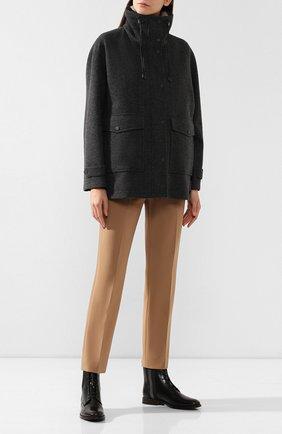 Куртка с меховым жилетом | Фото №2