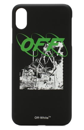 Мужской чехол для iphone xs max OFF-WHITE черного цвета, арт. 0MPA011F192940131001 | Фото 1