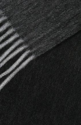 Мужской кашемировый шарф ANDREA CAMPAGNA темно-серого цвета, арт. 181 DES 840MI/SCARF | Фото 2