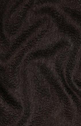 Мужской кашемировый шарф ANDREA CAMPAGNA темно-коричневого цвета, арт. 181 DES 840MI/SCARF | Фото 2