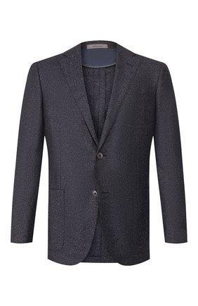 Мужской шерстяной пиджак CORNELIANI фиолетового цвета, арт. 84X240-9816320/90 Z | Фото 1