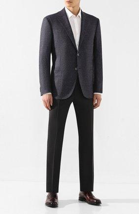 Мужской шерстяной пиджак CORNELIANI фиолетового цвета, арт. 84X240-9816320/90 Z | Фото 2