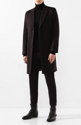 Мужские кожаные сапоги PREMIATA черного цвета, арт. 31503/0IL | Фото 2