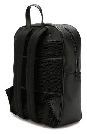 Мужской кожаный рюкзак evoluzione SERAPIAN черного цвета, арт. SEV0LMLL7006M31C   Фото 3