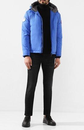 Мужские кожаные кеды TOD'S черного цвета, арт. XXM79B0BS10RYC | Фото 2