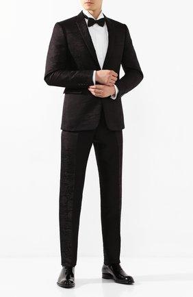 Мужские кожаные оксфорды BRIONI черного цвета, арт. QEF80L/04728 | Фото 2