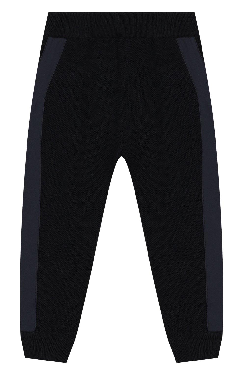 Детские шерстяные брюки LORO PIANA темно-синего цвета, арт. FAI8006 | Фото 1