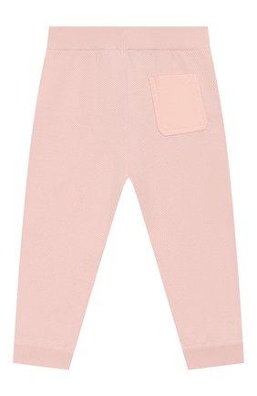 Детские шерстяные брюки LORO PIANA светло-розового цвета, арт. FAI8006   Фото 2