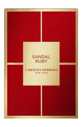Парфюмерная вода sandal ruby CAROLINA HERRERA бесцветного цвета, арт. 65144277 | Фото 2
