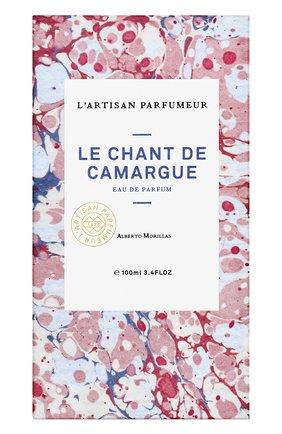 Парфюмерная вода le chant de camargue L'ARTISAN PARFUMEUR бесцветного цвета, арт. 3660463005270   Фото 2