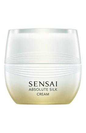 Женское крем для лица absolute silk SENSAI бесцветного цвета, арт. 38364   Фото 1