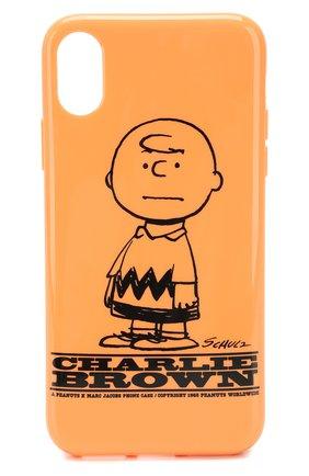 Чехол для iPhone X/XS Peanuts x Marc Jacobs   Фото №1