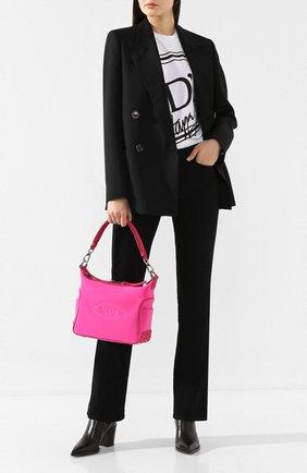 Женская сумка TOD'S X ALBER ELBAZ розового цвета, арт. XBWELBSN100NJ6   Фото 2