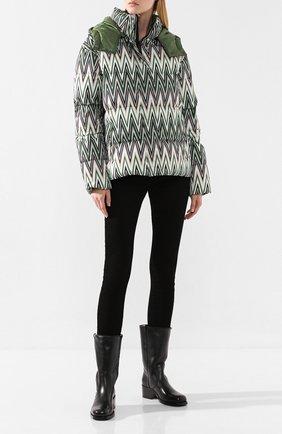 Женские кожаные сапоги SANTONI черного цвета, арт. WSGH58234BJ4ALGAN01 | Фото 2