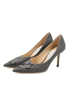 Текстильные туфли Love 85 | Фото №1