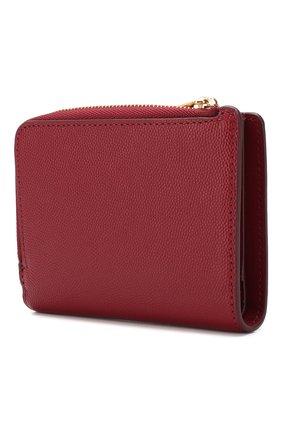 Женские кожаный кошелек FURLA красного цвета, арт. PBO5/Q26   Фото 2