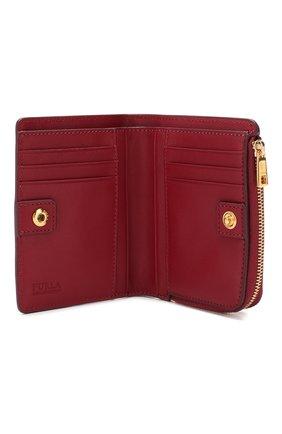 Женские кожаный кошелек FURLA красного цвета, арт. PBO5/Q26   Фото 3