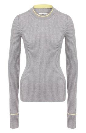 Женская шерстяной пуловер MAISON MARGIELA серого цвета, арт. S51HA0905/S16628 | Фото 1