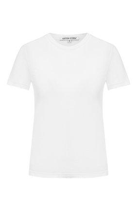 Женская хлопковая футболка COTTON CITIZEN белого цвета, арт. W11361 | Фото 1