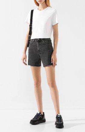 Женская хлопковая футболка COTTON CITIZEN белого цвета, арт. W11361   Фото 2