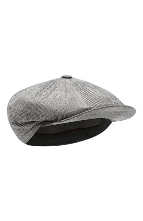 Мужская шерстяное кепи BRUNELLO CUCINELLI серого цвета, арт. MN4169945 | Фото 1