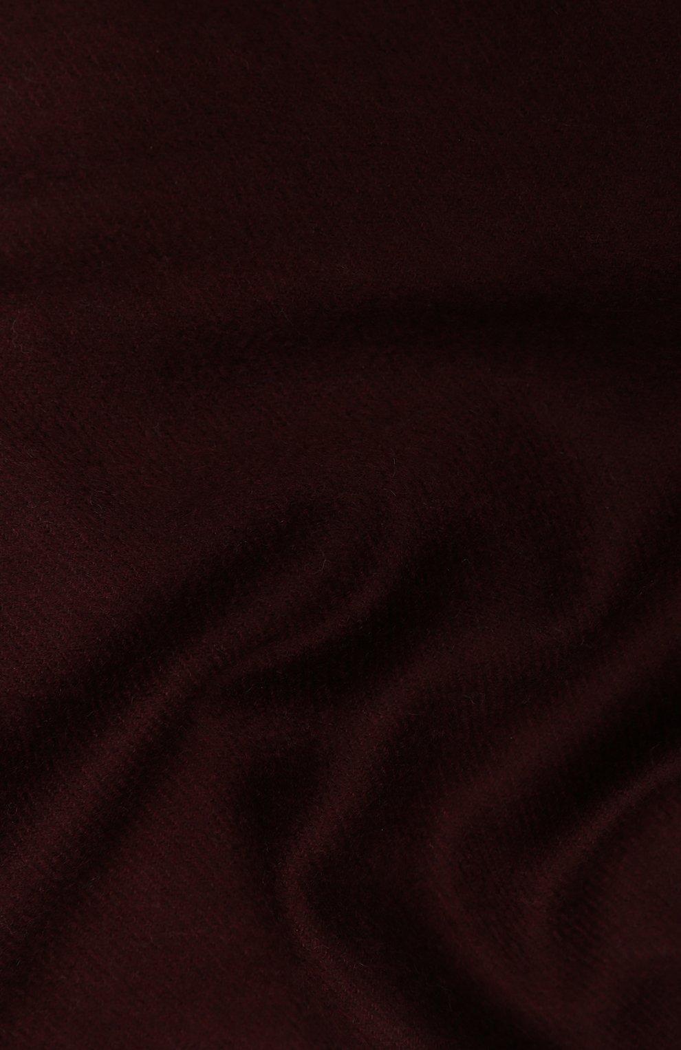 Мужской кашемировый шарф AD56 бордового цвета, арт. 64200   Фото 2