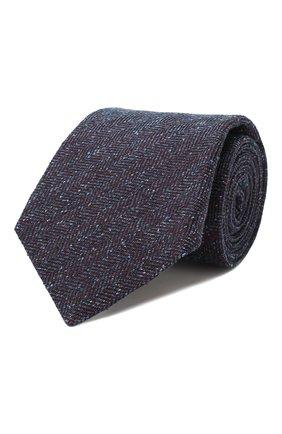 Мужской шелковый галстук KITON разноцветного цвета, арт. UCRVKLC09F02 | Фото 1 (Материал: Текстиль, Шелк; Статус проверки: Проверена категория; Принт: С принтом)