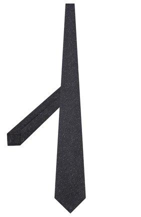 Мужской галстук из смеси шелка и шерсти KITON темно-синего цвета, арт. UCRVKLC09F20 | Фото 2