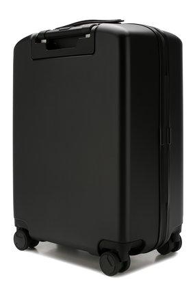Мужской дорожный чемодан SERAPIAN черного цвета, арт. SP0STMTR7090M55A | Фото 2