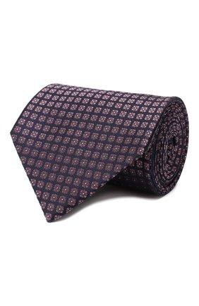 Мужской шелковый галстук ERMENEGILDO ZEGNA фиолетового цвета, арт. Z6E03/1XW | Фото 1