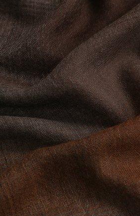 Мужской кашемировый шарф DOLCE & GABBANA коричневого цвета, арт. GQ213E/G2QAB | Фото 2