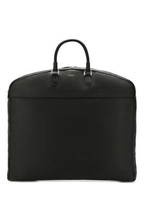 Мужская кожаная дорожная сумка SERAPIAN черного цвета, арт. SCACHMTR7077M55A | Фото 1